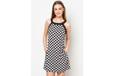 Geb. Checkered Dress