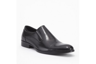 Knight School Leather Cap-Toe Loafer