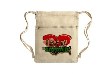 Sack Pack Army Cinch Sack by CafePress