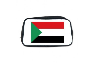 Sudan Flag Toiletry Bag by CafePress