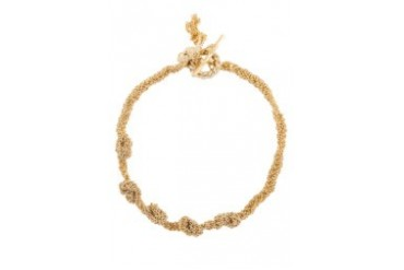 Multiple Gold Knots Bracelet