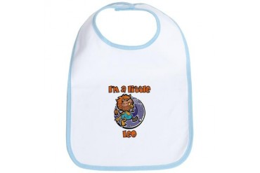 I'm A Little Leo Baby Bib by CafePress
