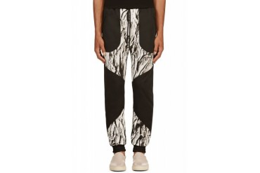 En Noir Black Wasteland Lounge Pants