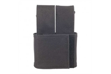 Injected Molded Double Mag Pouches - Injected Molded Double Mag Pouch Black Glock 20/21