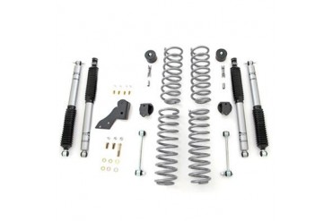 Rubicon Express 2.5 Inch Standard Coil Lift Kit with Mono Tube Shocks RE7141M Complete Suspension Systems and Lift Kits