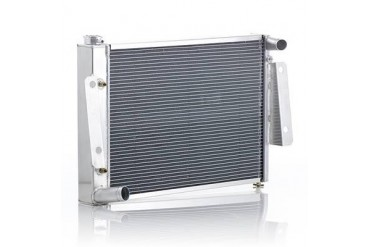 Be Cool Replacement Aluminum Radiator for 4,6 or 8 Cylinder Engines and Automatic Transmission 62223 Radiator