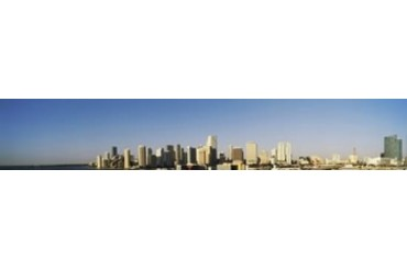 Buildings in a city, Miami, Florida, USA 2012 Print by Panoramic