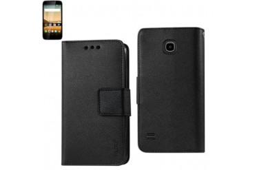 Wallet Case 3 In 1 For Huawei Union Black
