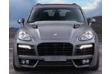 TechArt Magnum Aero Wide Body Kit Black DRL Porsche Cayenne S Hybrid 958 without Tow Hitch 11-14