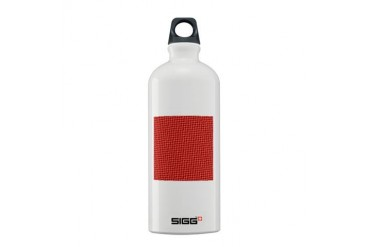 Red Christmas Pattern Holiday Sigg Water Bottle 0.6L by CafePress