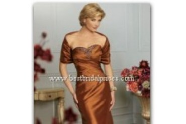 Caterina Mothers Satin Backed Taffeta Shrug - Style Shrug
