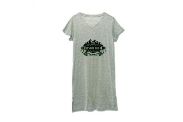 Crested Butte Mountain Emblem Colorado Women's Nightshirt by CafePress