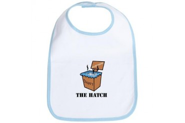 The Hatch Baby Bib by CafePress