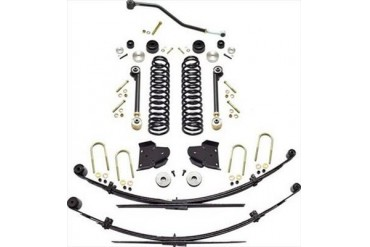 Currie 4.5 Inch Johnny Joint Lift Kit CE-9800XJ Complete Suspension Systems and Lift Kits