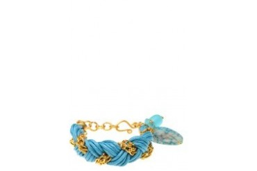 Chained Braided Bracelet