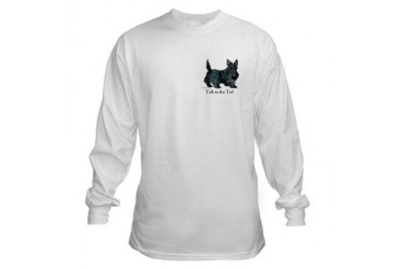Scottish Terrier Attitude Pets Long Sleeve T-Shirt by CafePress