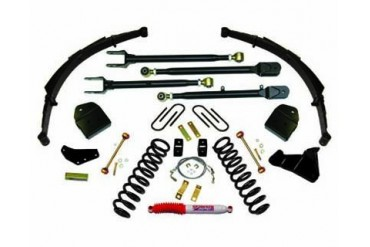Skyjacker 4 Inch Lift Kit Ford F-250 Super Duty V8 4WD 08-10