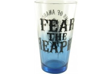 Sons of Anarchy Fear Reaper Blue Tint Pint Glass