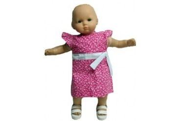 Bitty Baby Doll Pink A Line Dress