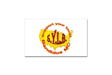 SYLB Rectangle Sticker Support Sticker Rectangle by CafePress