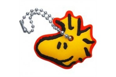 Peanuts Woodstock Head Side Key Cap Flexible Keychain