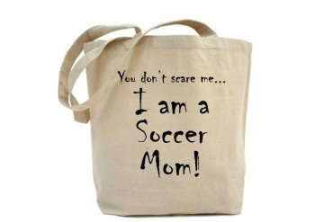 You don't scare me...soccer mom Family Tote Bag by CafePress