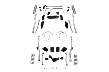 Rubicon Express 4.5 Inch Extreme Duty 4-Link Front/Rear Radius Long Arm Lift Kit - No Shocks JK4R44 Complete Suspension Systems and Lift Kits