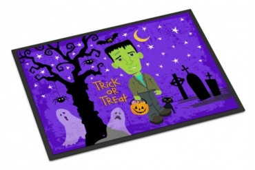 Halloween Frankie Frankenstein Indoor or Outdoor Mat 24x36