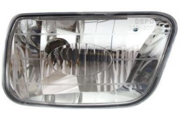 2002-2009 Chevrolet Trailblazer Fog Light Kool Vue Chevrolet Fog Light 3352004RAS 02 03 04 05 06 07 08 09
