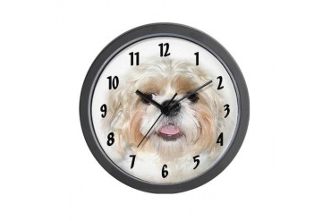Shih Tzu face Wall Clock