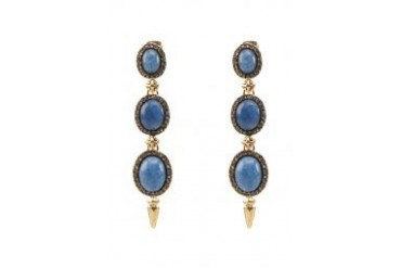 House Of Harlow 1960 Blue Stone Drop Earrings