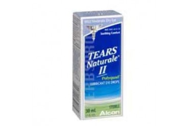Tears Naturale Ii Polyquad Lubricant Eye Drops 30 ml