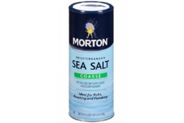 Morton Coarse Sea Salt 17.6 oz Bottle