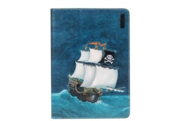 Sailing Ship iPad Air Printed Leather Case