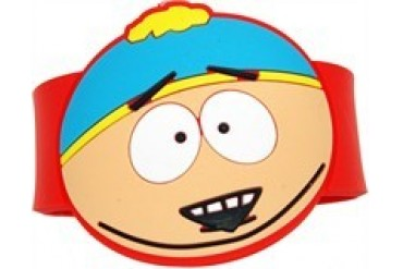South Park Cartman Head Rubber Wristband