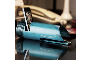 Loudbasstard Bamboo Amplifier & Speaker