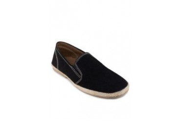 Colour Block Canvas Slip Ons