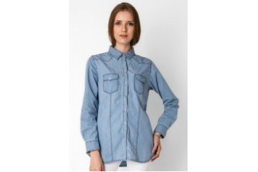 Heath LS Shirt Chambray