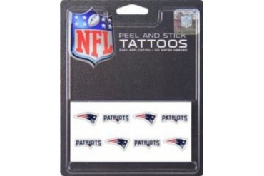 New England 8-PC Peel and Stick Tattoo Set