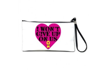 I Won't Give Up: Air Force Air force Clutch Bag by CafePress