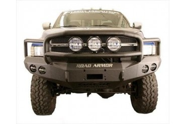 Road Armor Front Stealth Winch Bumper with  Lonestar Guard 47015B Front Bumpers