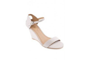 EZRA by ZALORA Kitten Wedges With Cut Out Detailing