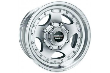 American Racing Wheels AR23, 15x7 with 5 on 4.75 Bolt Pattern - Machined With Clear Coat AR235761 Wheels