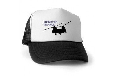 H 46 Military Trucker Hat by CafePress