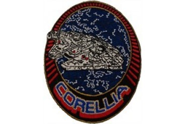 Star Wars Millennium Falcon Corellian Engineering Corporation YT-1300 Light Freighter Patch