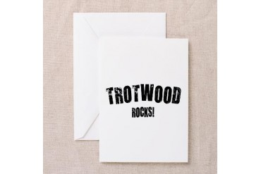 Trotwood Rocks Ohio Greeting Card by CafePress