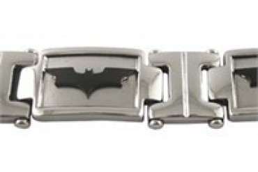 DC Comics Batman Dark Knight Logo Stainless Steel Bracelet