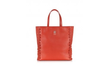Regina Leather Maxi Tote