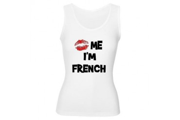 Kiss Me I'm French France Women's Tank Top by CafePress