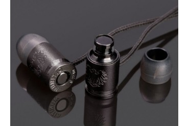 Munitio NINES Tactical Earphones with 1 Button Universal Mic Control